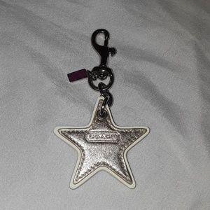Coach Star key ring